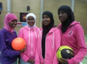 Somaliska Freds basketlag för tjejer
