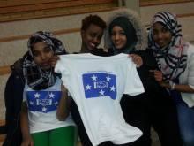 Somaliska Freds basketlag för tjejer 7