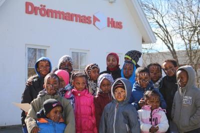 Somaliska Freds på Drömmarnas Hus i Rosengård 5