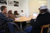 Örtagårdsskolans rektor hos Somaliska Freds 2
