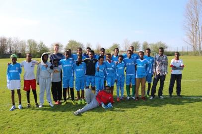 Somaliska Freds fotboll i Kristianstad april 2014 3
