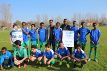 Somaliska Freds fotboll i Kristianstad april 2014 2
