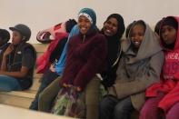 Somaliska Freds ridning i Malmö Jägersro - somalier 6