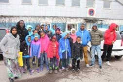 Somaliska Freds ridning Malmö Jägersro somalier