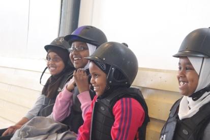 Somaliska Freds ridning i Malmö Jägersro - somalier 8
