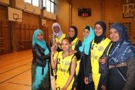 Somaliska Freds BBK Playmaker Rosengård basketmatch 8