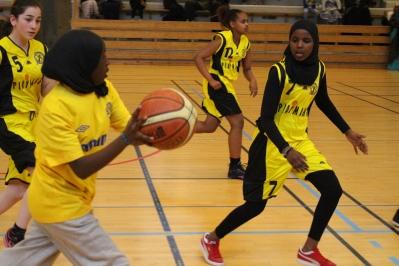 Somaliska Freds BBK Playmaker Rosengård basketmatch 6