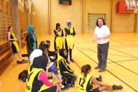 Somaliska Freds BBK Playmaker Rosengård basketmatch 5