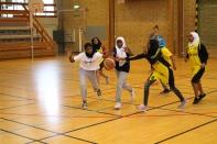 Somaliska Freds BBK Playmaker Rosengård basketmatch 4