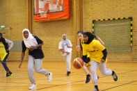 Somaliska Freds BBK Playmaker Rosengård basketmatch 2