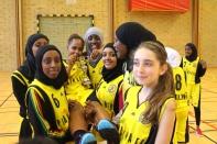 Somaliska Freds BBK Playmaker Rosengård basketmatch