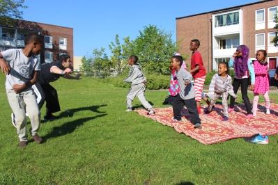 Somaliska Freds capoeira Rosengård Malmö