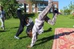 Somaliska Freds capoeira Rosengård Malmö 2