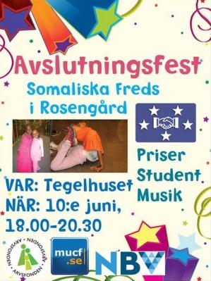 Avslutningsfest SFSF våren 2014