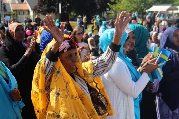 Somaliska nationaldagsfirandet i Folketspark Malmö 2014 3