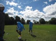 Fotbollsturnering på Gotland Somaliska Freds 5