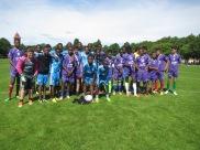 Fotbollsturnering på Gotland Somaliska Freds 4