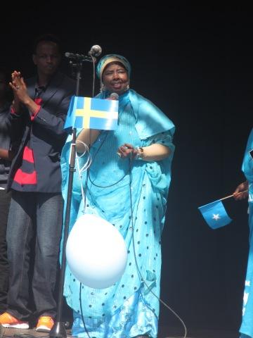 Somaliska nationaldagsfirandet i Folkets Park Malmö 26e juni 2014 HIBO NUURA