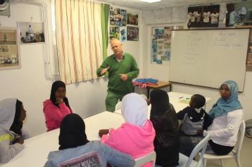 Somaliska Freds hälsoinformation basketlag 2