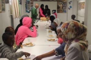 Somaliska Freds hälsoinformation basketlag 3