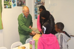 Somaliska Freds hälsoinformation basketlag 4