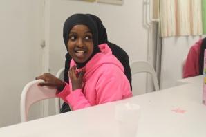 Somaliska Freds hälsoinformation basketlag 5