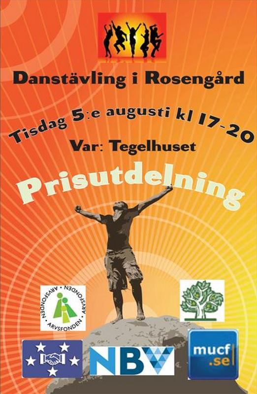 Danstävling i Rosengård  - Somaliska Freds och DBF