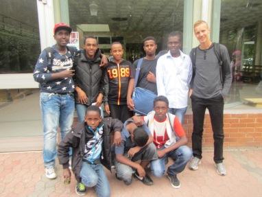 Somaliska Freds på Friskis och Svettis Parkmöllan