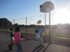 Somaliska Freds basketlag hösten 2014