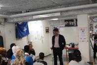 Erik Ullenhag besökte Somaliska Freds september 2014