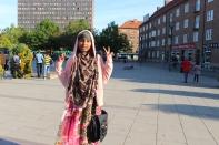 Somaliska Freds besökte Oscar Olsson-museet