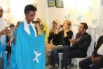 Erik Ullenhag besökte Somaliska Freds i Rosengård