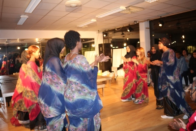 Somaliska Freds dansgrupp Hallstahammar