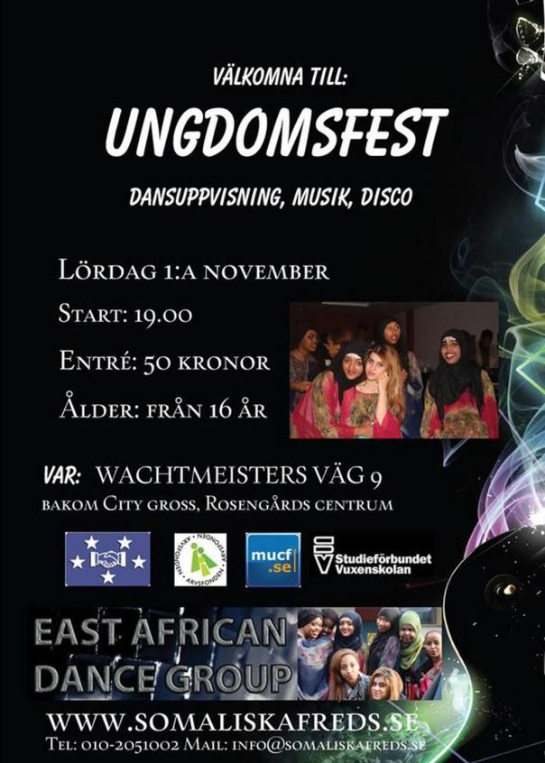 Ungdomsfest 1 a november 2014
