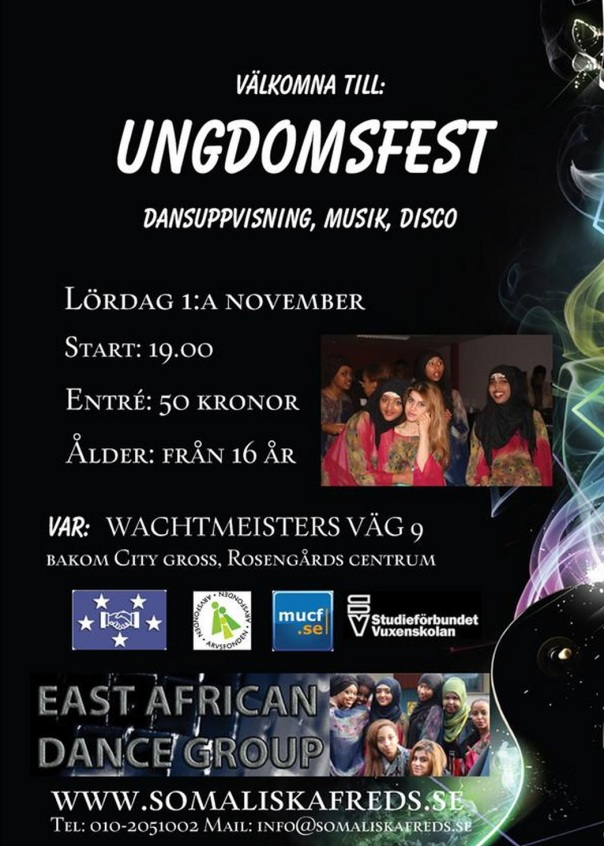 Ungdomsfest 1 a november 2014