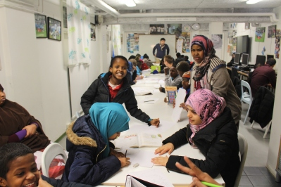 Somaliska Freds läxhjälp november 2014