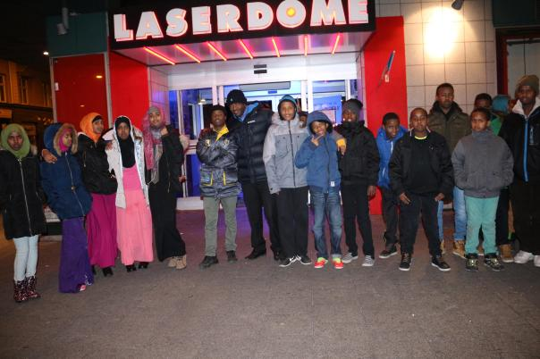 Somaliska Freds Lazerdome
