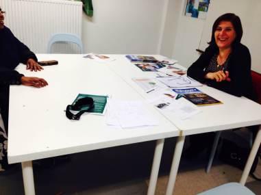 Almi besökte Somaliska Freds i Rosengård