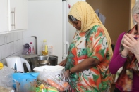 Somalisk matlagning på Herrgården