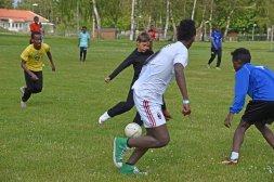Fotboll Somaliska Freds och Somaliska Kulturföreningen i Tomelilla 6 e juni 2015