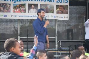 Rosengårdsfestivalen 2015 Somaliska Freds och MKB Behrang Miri