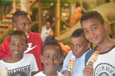 Somaliska Freds Busfabriken 2015 september