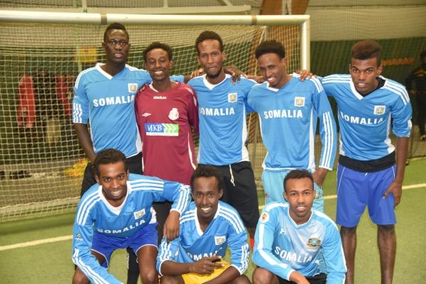 Fotbollsturnering Ensamkommandes förbund