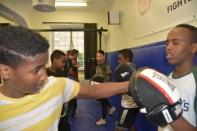 Somaliska Freds - kampsport med KFUM