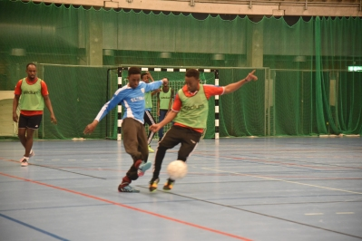 Somaliska Freds och Somaliska Ungdomar i Lund - träningsmatch