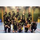 BBK Playmaker basketlag för somaliska tjejer i Rosengård - samarbete med Somaliska Freds