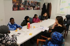 Malmö mot diskriminering besöker Somaliska Freds i Rosengård