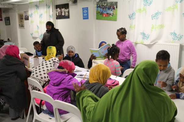 Modersmålsundervisning Somaliska Freds