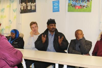 Vänsterpartiet Rosengårds besökte Somaliska Freds