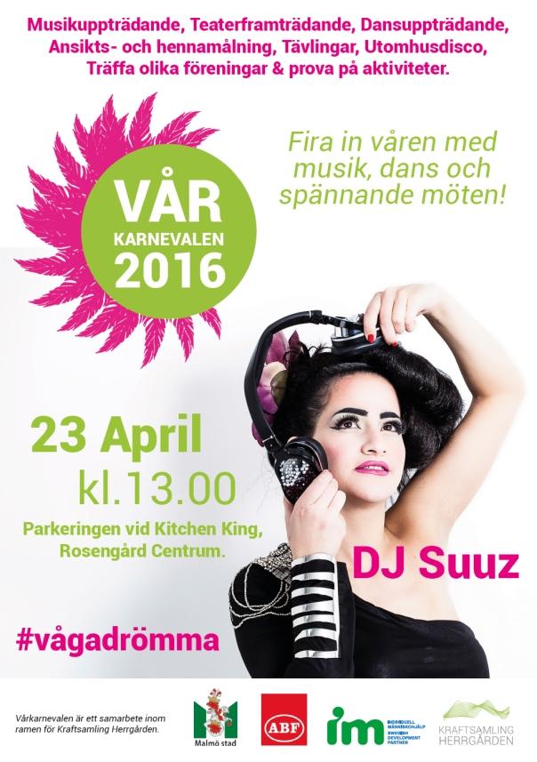 Vårkarnevalen 2016 affisch